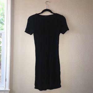 Black Brandy Melville T-Shirt Dress